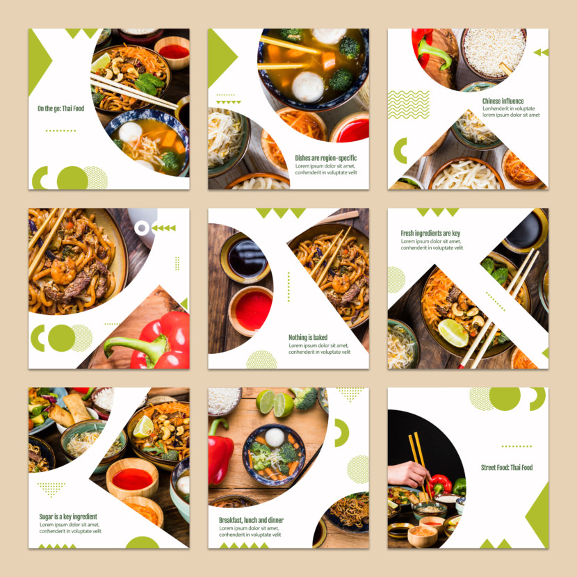 Food Concept Instagram Template
