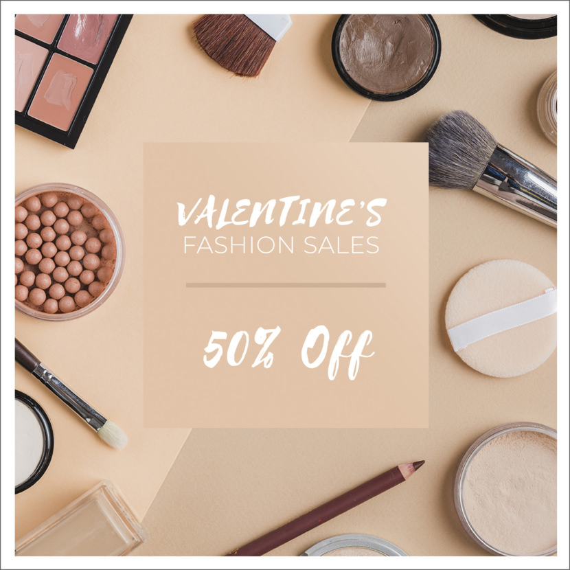 Valentine Sales Instagram Template