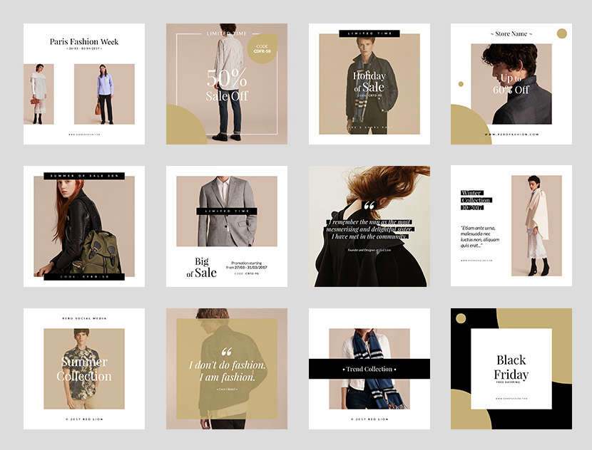 Fashion Social Media Instagram Template