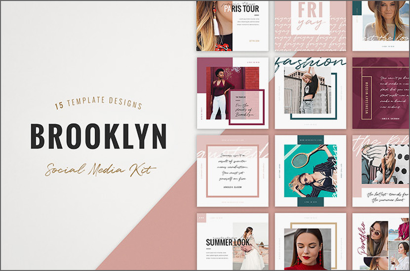 Brooklyn Fashion Instagram Template