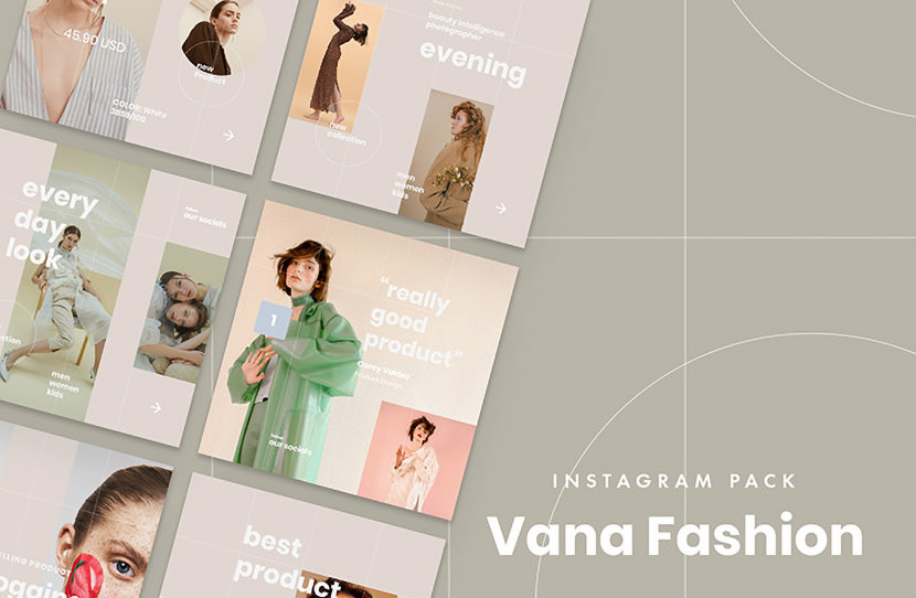 Vana Fashion Instagram Template
