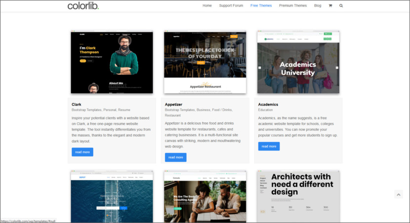 Colorlib Free Professional HTML5 Responsive Templates
