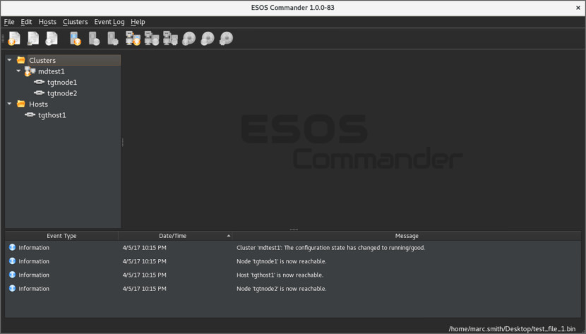 ESOS - Enterprise Storage OS