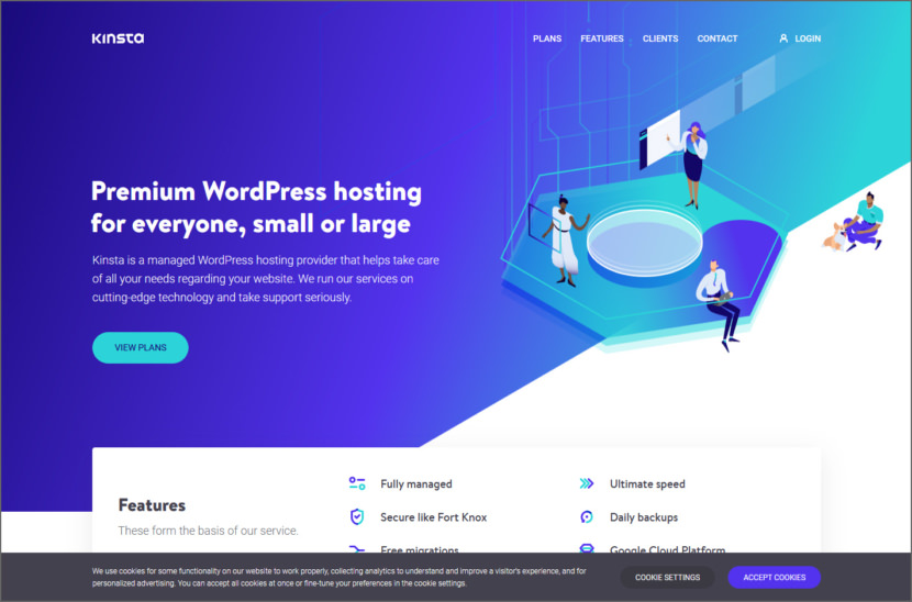 Kinsta Managed WordPress