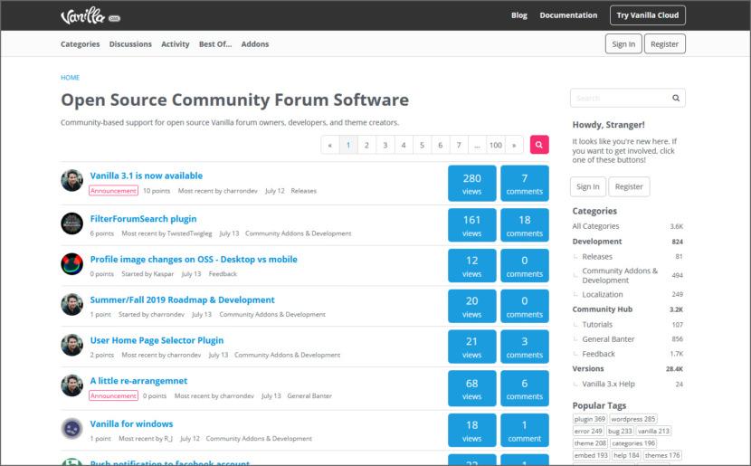 Vanilla Forum