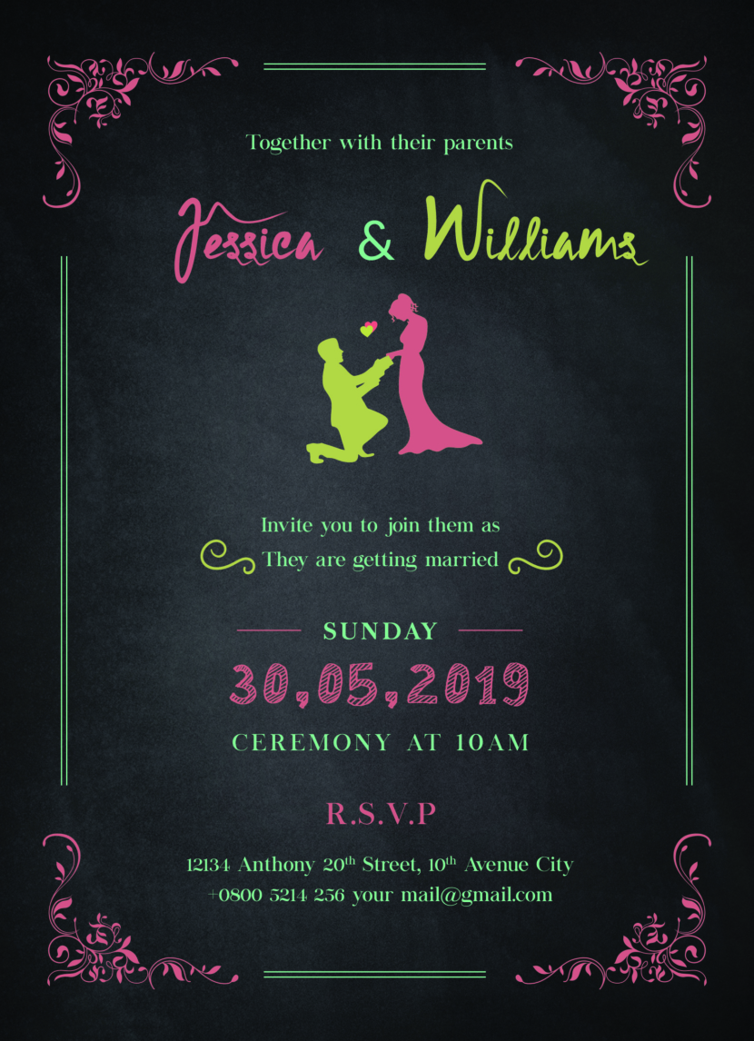 Free Printable Bridal Shower Invitation Template Printable And Editable PSD