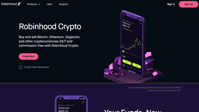 Robinhood Crypto