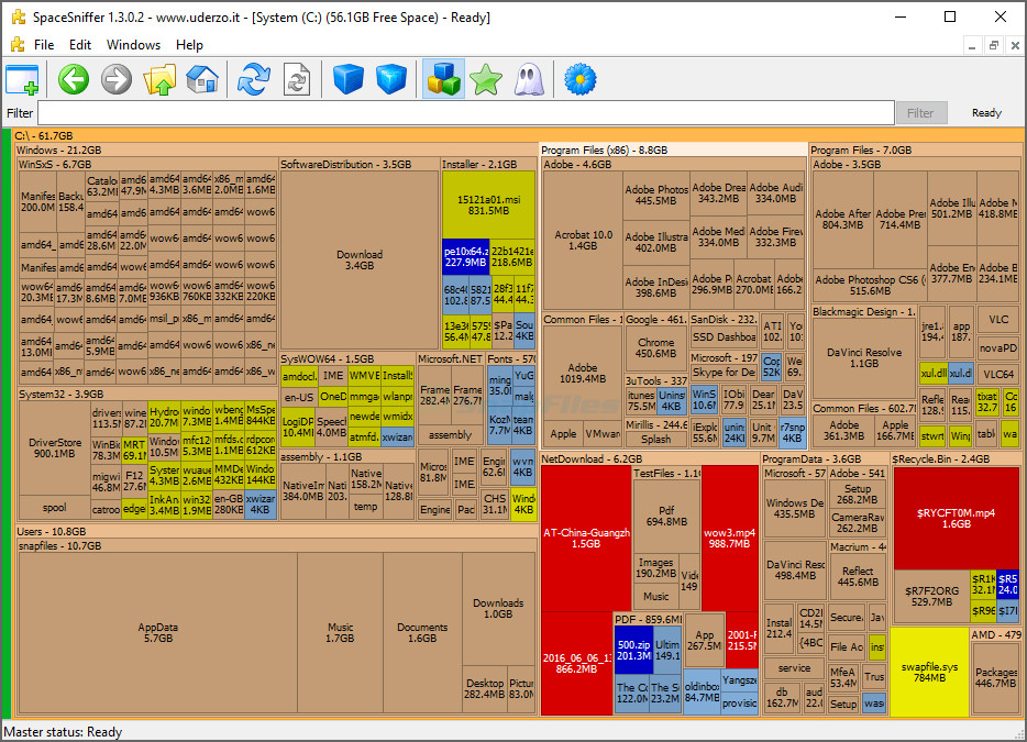6 Free Disk Usage Analyzer Tools For Pc Network Nas Storage
